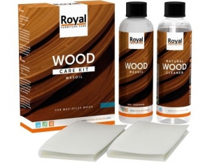 WaxOil Wood Care Kit and Cleaner; 2 x 250ml 17.500000  Collectie»Onderhoud»Hout