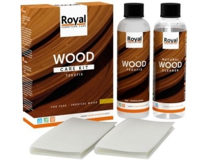Teakfix Wood Care Kit and Cleaner; 2 x 250ml 17.500000  Collectie»Onderhoud»Hout